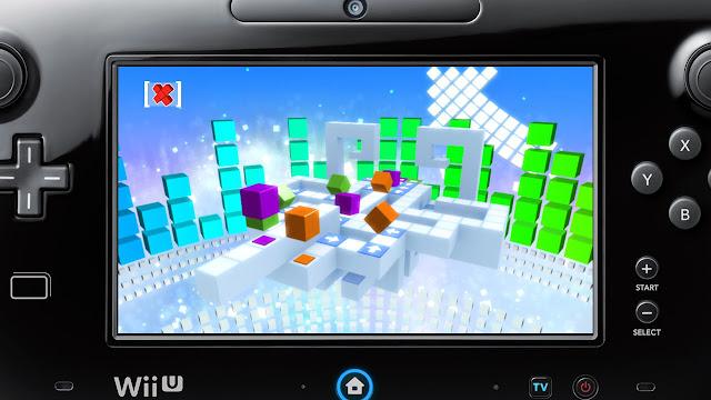 Screenshot of video game RUSH running on Wii U GamePad