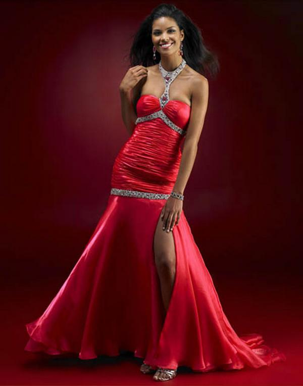 Wedding Dresses Color Red : Womens red dresses women