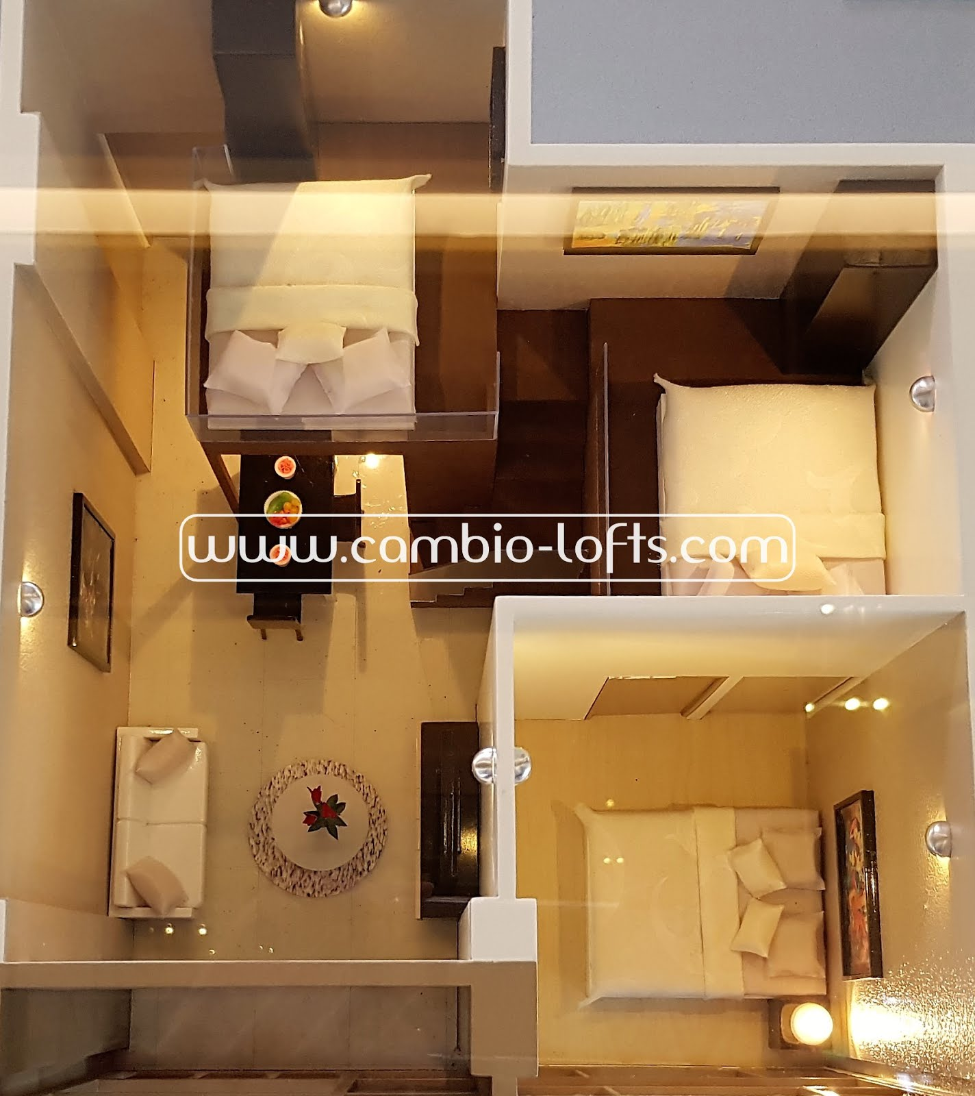 lighting for lofts. Show Unit Cambio Lofts - 3 Bedroom Lighting For D
