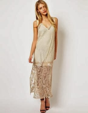 Flapper-style Cheap Wedding Dress from ASOS