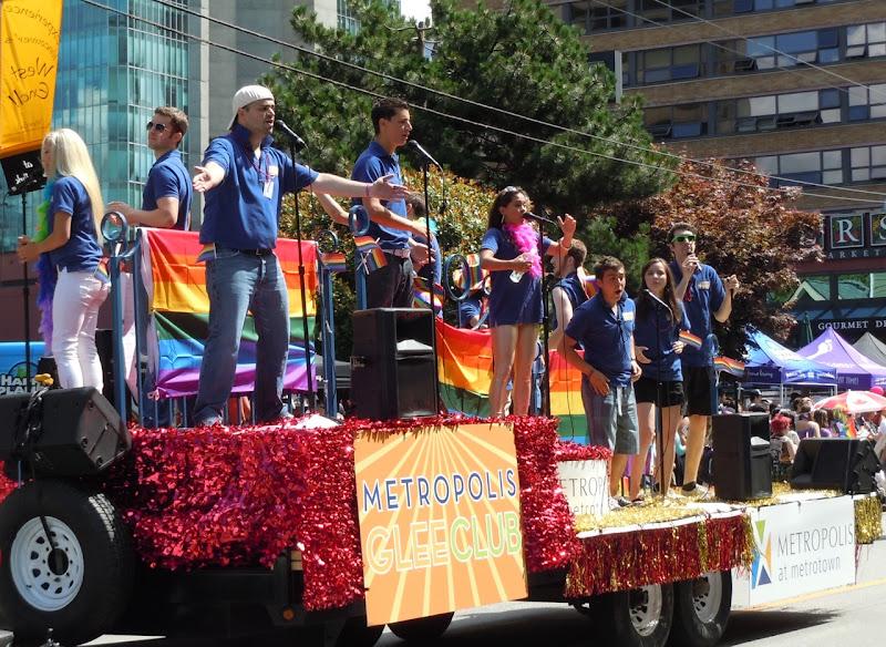 Glee Vancouver Pride Parade