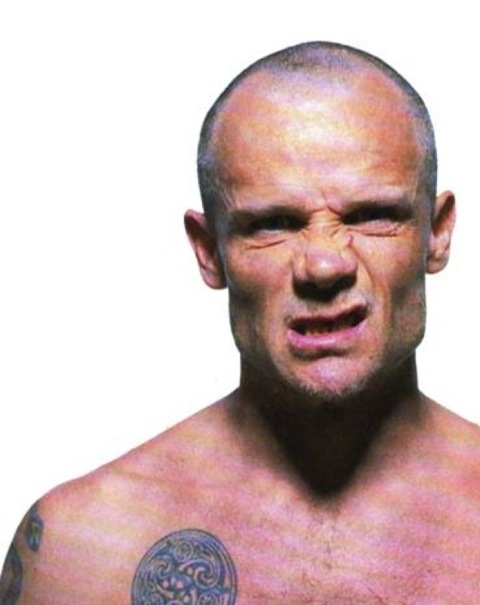 Flea Surfing Red Hot Chili Peppers