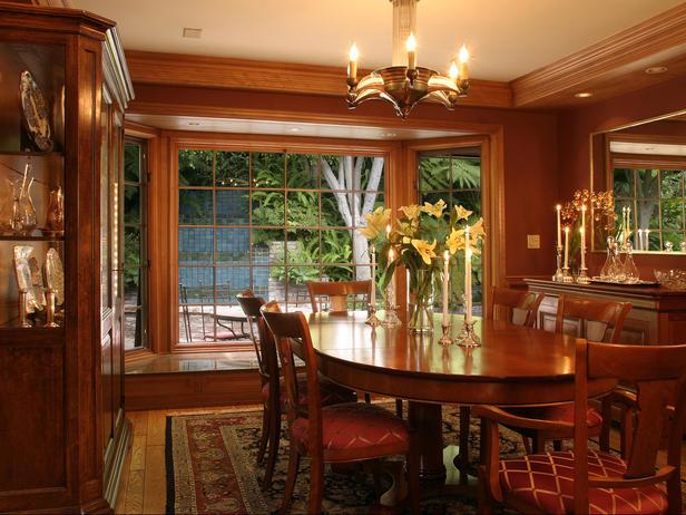 desain ruang makan dari kayu design rumah