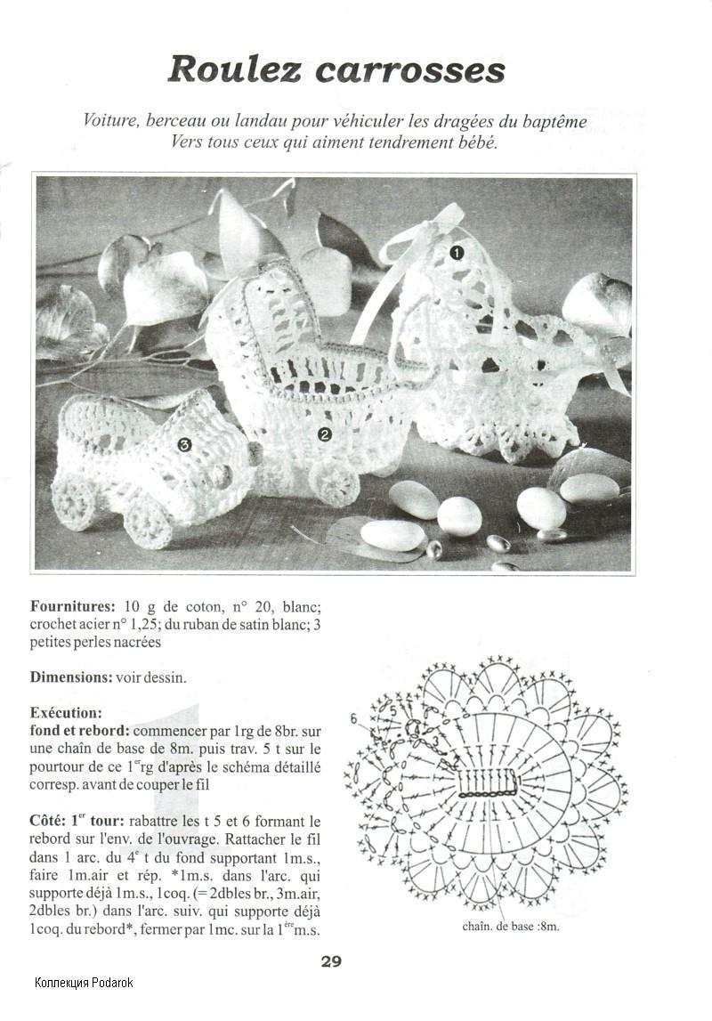 Вязание сувениров и схемы