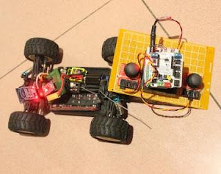 carro controle remoto Bluetooth Arduino