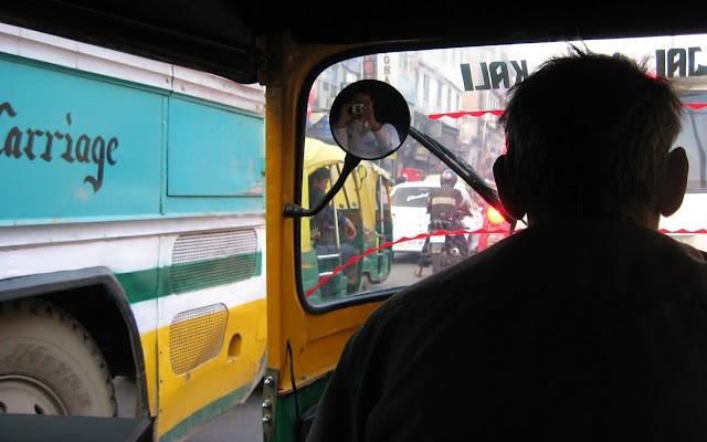 tuk-tukc a Delhi