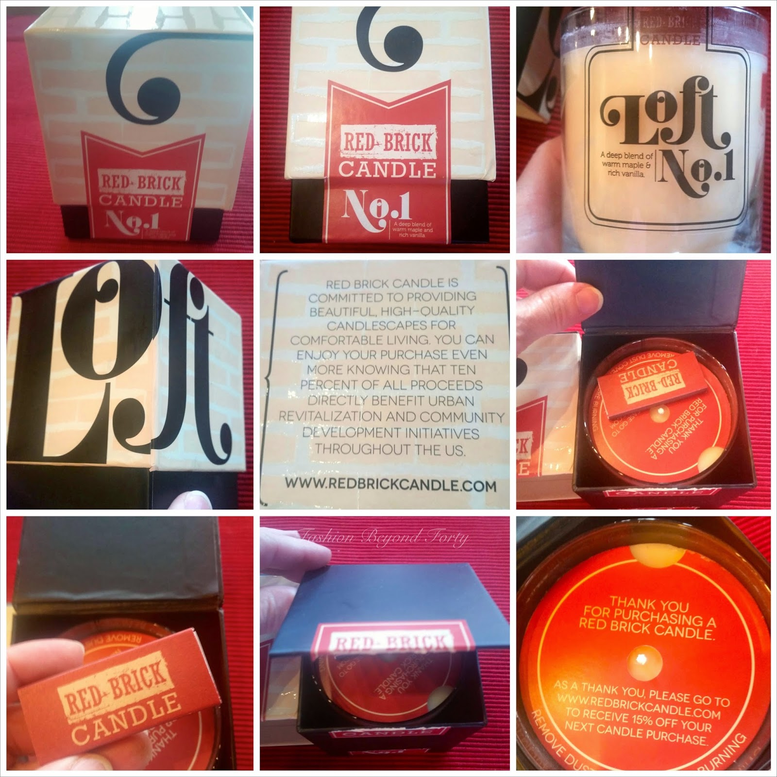 Red Brick Candle Review