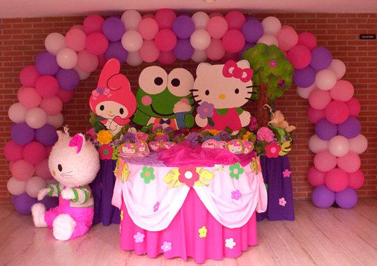 Decoracion Hello Kitty Fiestas Infantiles ~ MuyAmeno com Fiestas Infantiles Hello Kitty, parte 1