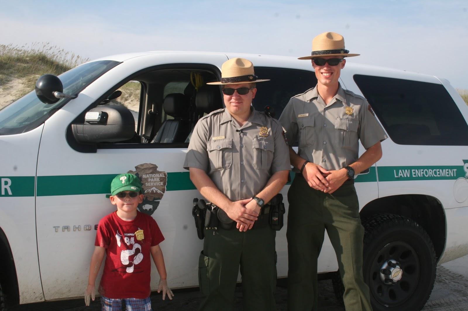 Fire Island National Seashore Park Rangers
