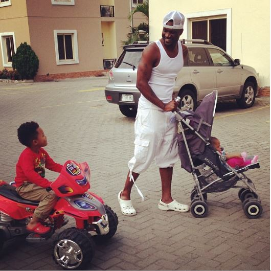 peter okoye kids