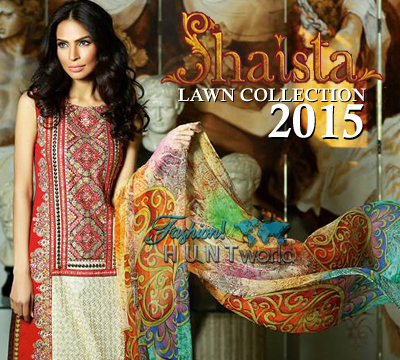 Shaista Cloth Spring / Summer Lawn Collection 2015 Vol-01