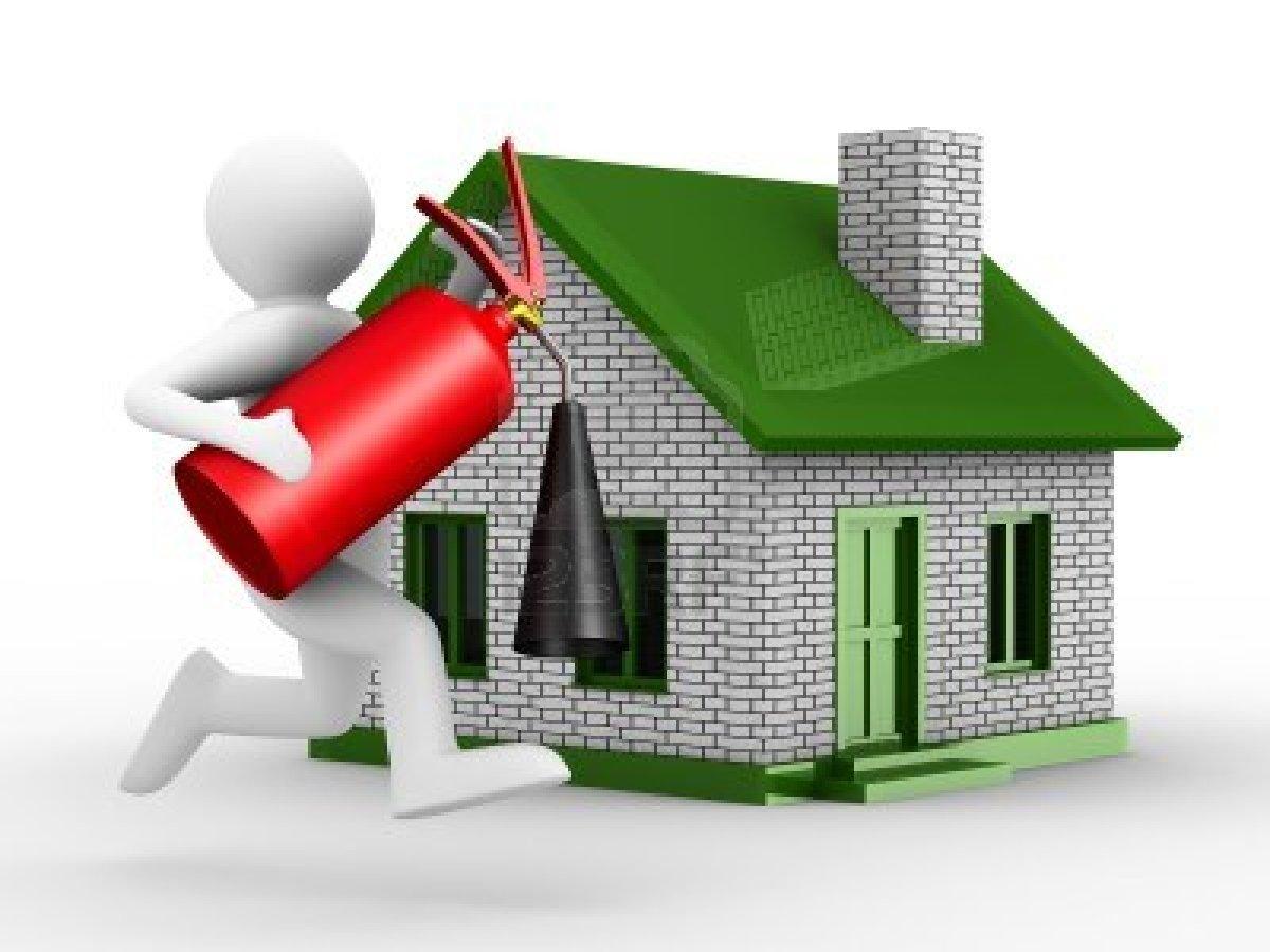 Seguridad con richard prevencion de incendios for Fire safety house