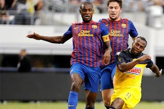 Barcelona cierra su gira con victoria sobre el América