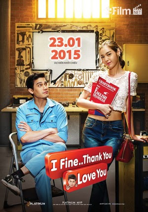 I Fine Thank You Love You 2015 poster