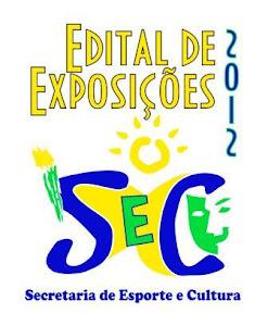 EDITAL de Exposições 2012
