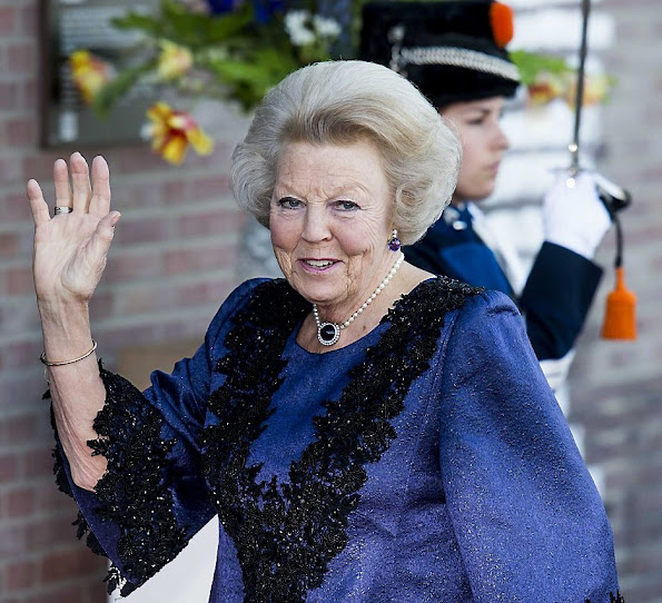 Queen Maxima and King Willem-Alexander of The Netherlands, Princess Beatrix and Princess Margriet of The Netherlands attended the Koningsdagconcert at the Energiehuis