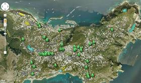 Mappa interattiva del verde pubblico a Capri