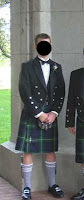 I was the best man in a Scottish wedding. The formal kilt/tux was a rental.