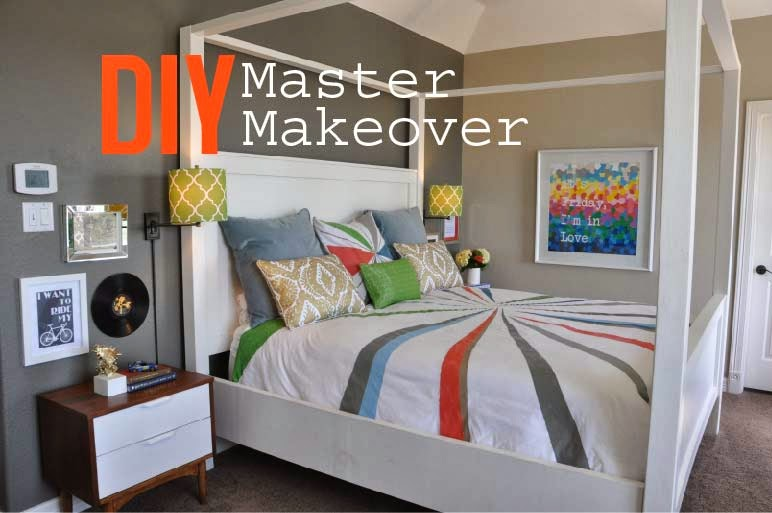 Decor sanity diy master makeover reveal Diy master bedroom makeover