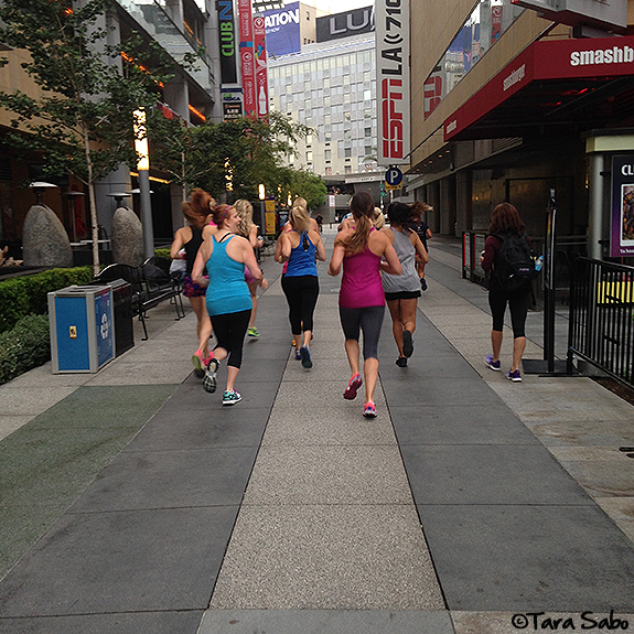 IDEA World, BlogFest 2015, Running, Bloggers, Downtown Los Angeles