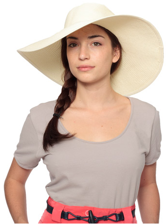 a round face girl.  summer hat. 2105c6a862a5