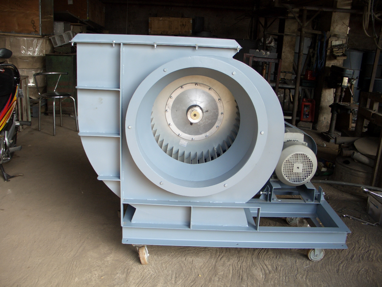 centrifugal fan failure essay Centrifugal pumps are often classified by a type number known as the specific speed that varies with the shape of the impeller two main components of a centrifugal pump are the impeller and the casing.