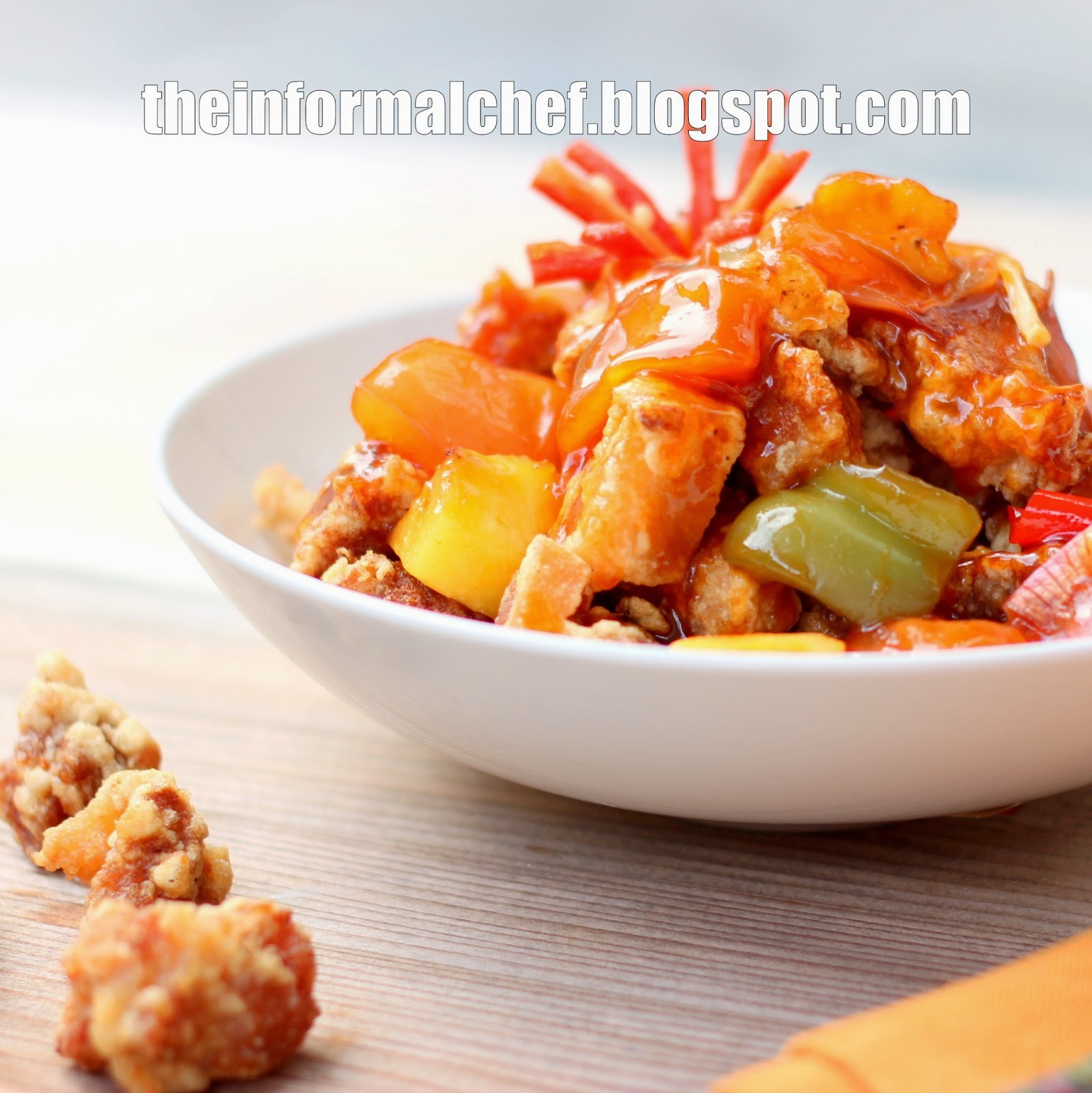 The informal chef easy sweet and sour pork recipe easy sweet and sour pork recipe forumfinder Images
