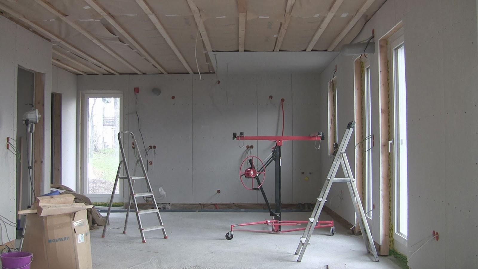 jome home bau 4s 9 gipskarton die decke. Black Bedroom Furniture Sets. Home Design Ideas