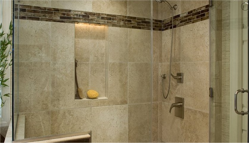 Understated Glass From Lunada Bay Was Added To The Shower And As An