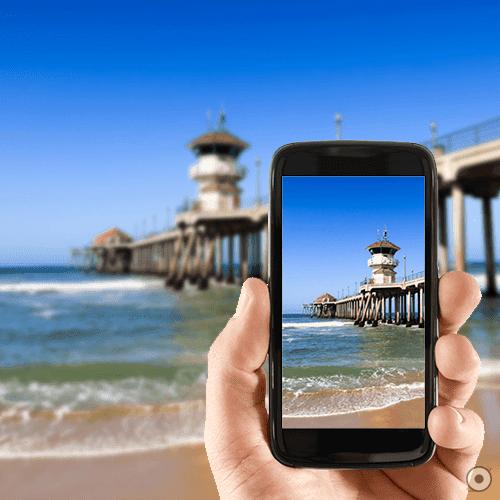 tips fotografi kamera smartphone, gambar paintai