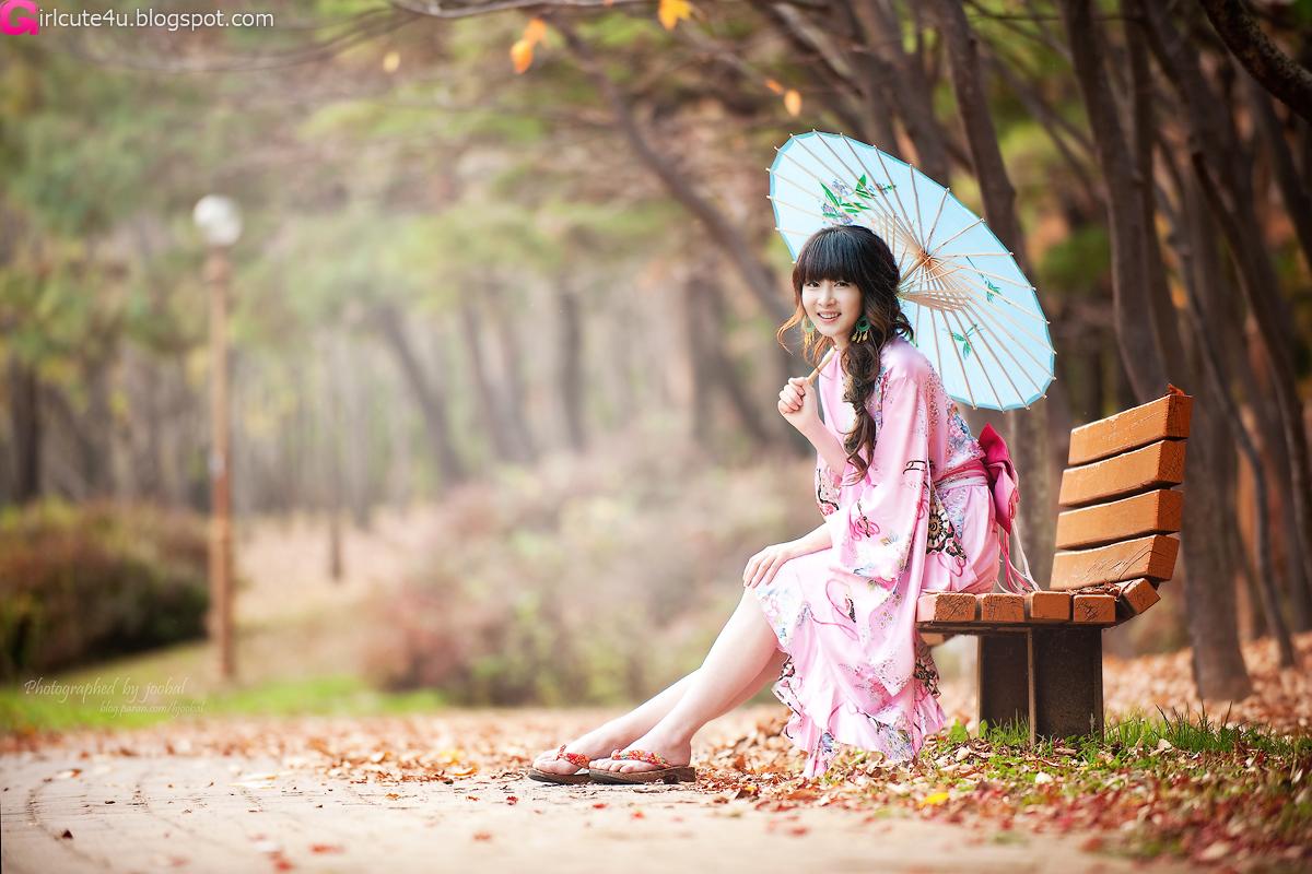 Lee Ga Na in Kimono ~ Cute Girl - Asian Girl - Korean Girl