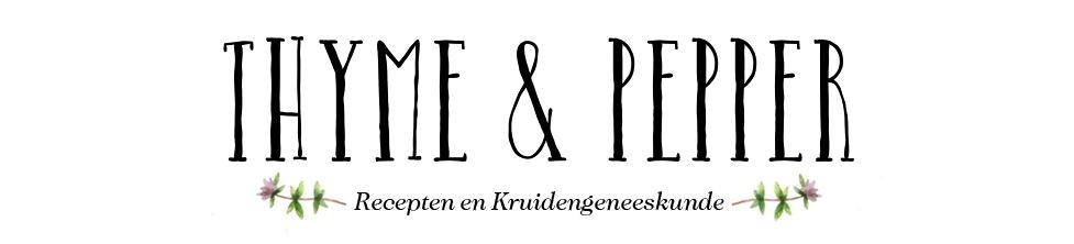 Thyme & Pepper