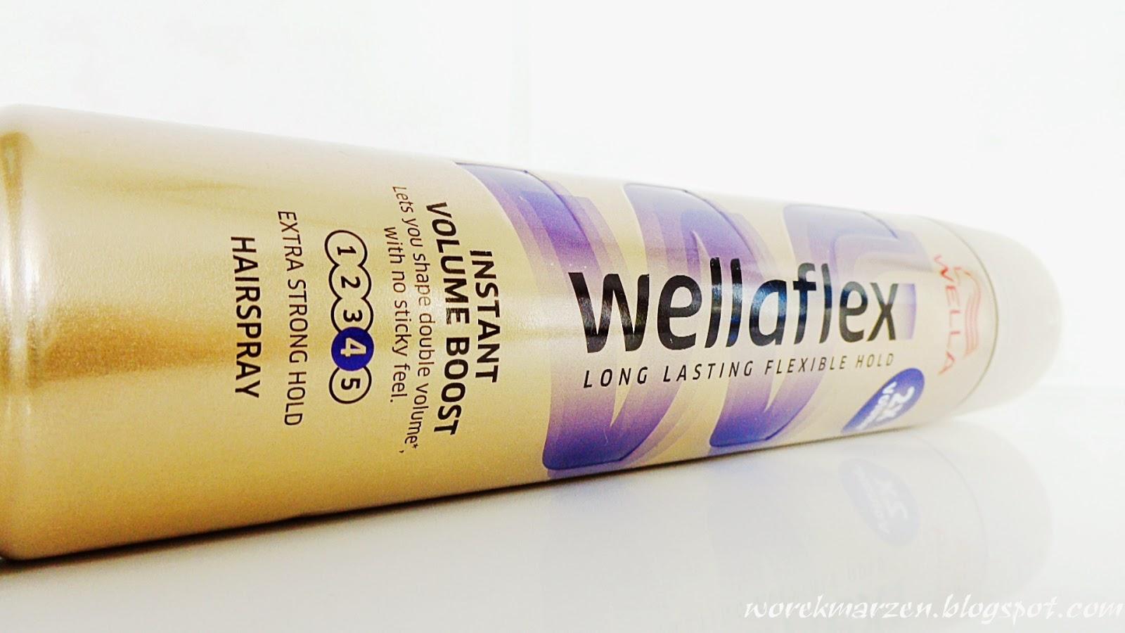 Lakier Wellaflex zwiększający objętość