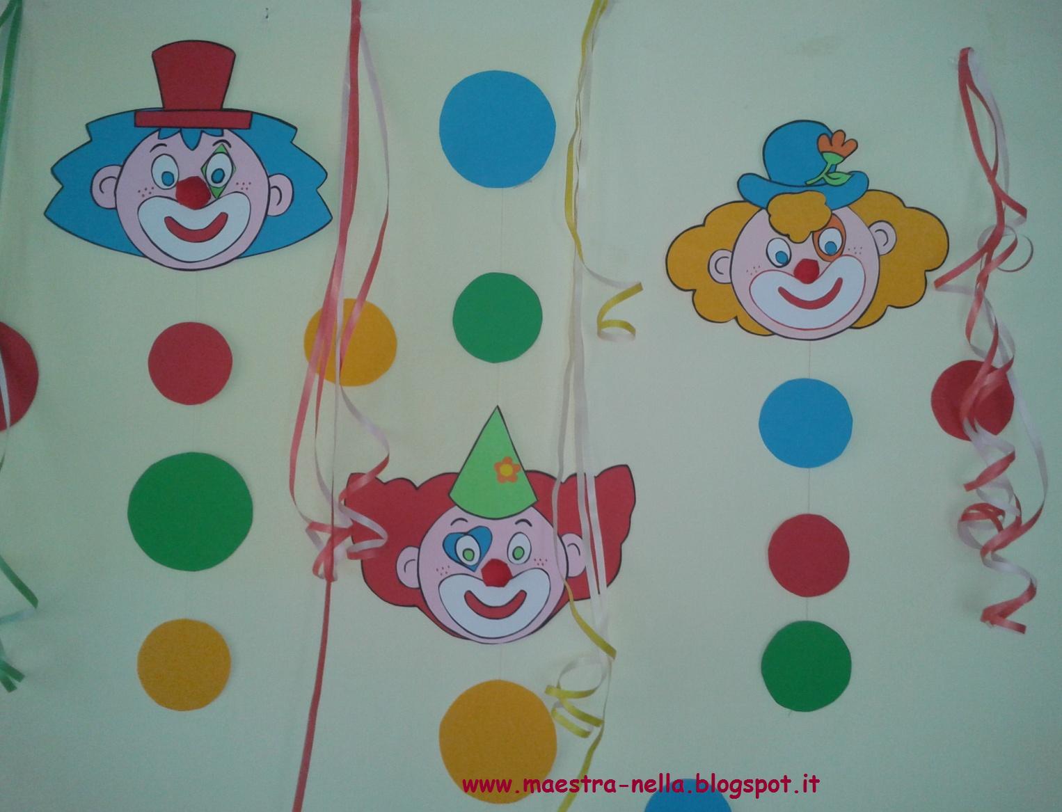 Maestra nella carnevale addobbi per l 39 aula - Addobbi natalizi per finestre scuola infanzia ...