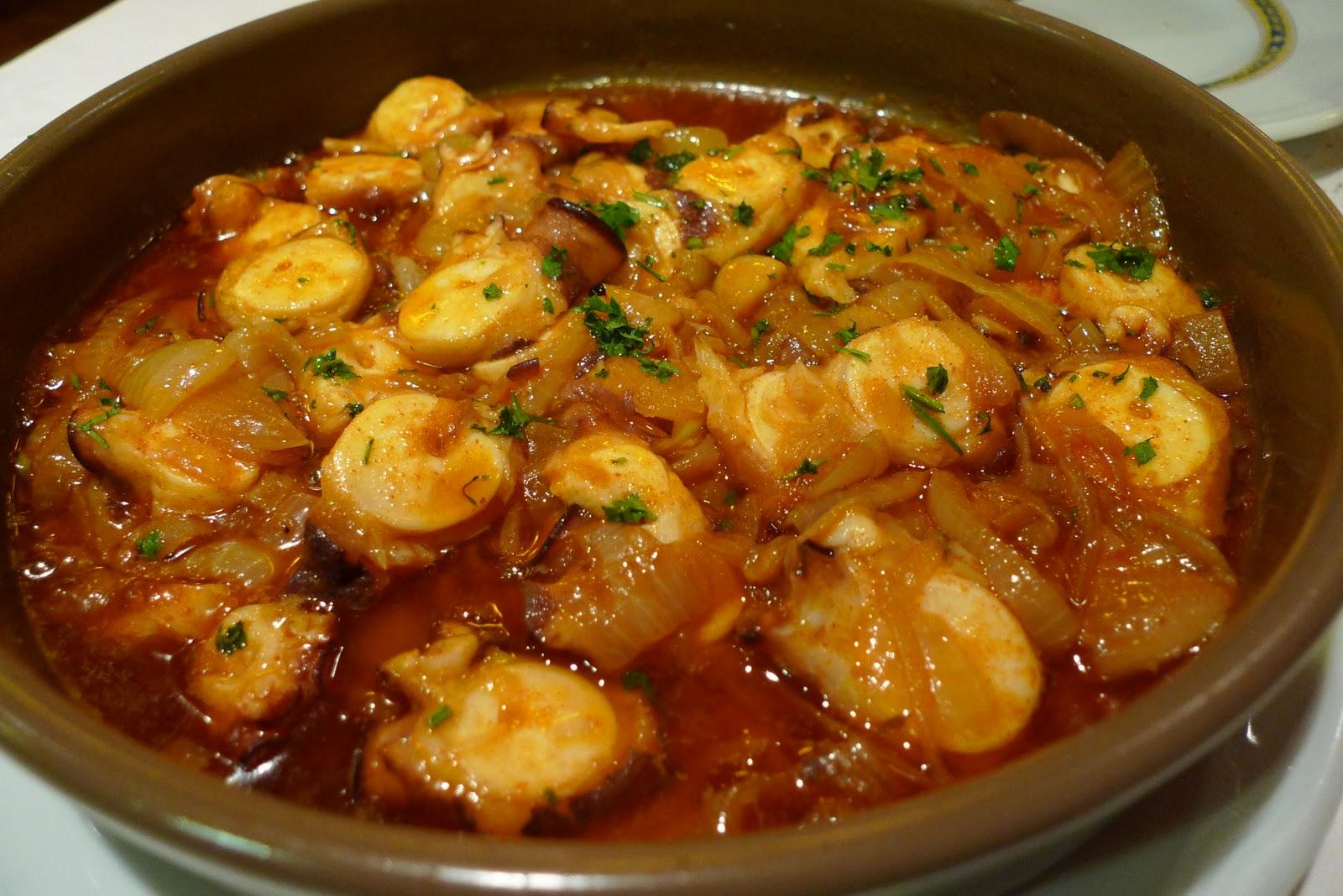 Como Cocinar El Pulpo   El Rincon Del Culi Receta No 12 Pulpo Al Mojo De Ajo