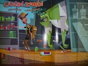 """Cuento """"Ciudad zombi"""""""