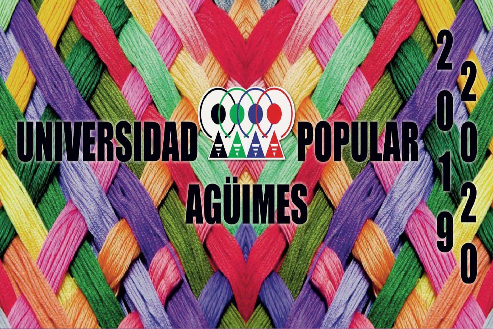 Universidad Popular de Agüimes - Curso 2019-2020