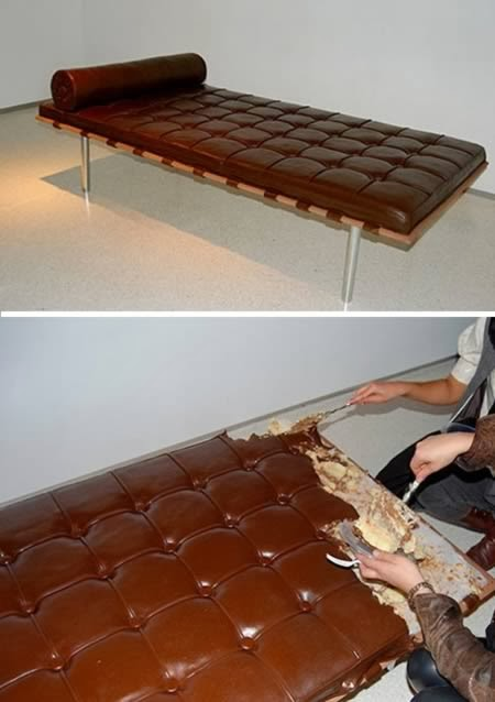 Edible Chocolate Couch- Magrush.com