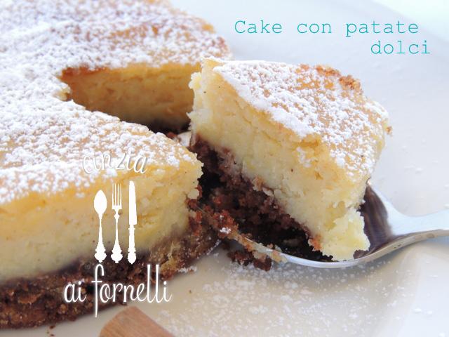 Cinzia ai fornelli cake con patate dolci e amaretto for Patate dolci americane