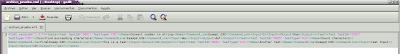 Imagen de un archivo xml desordenado