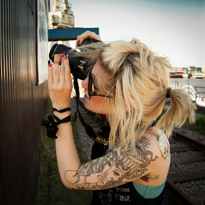 Shoulder Tattoos Photography