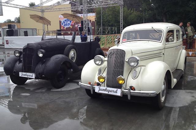 фестиваль ретроавтомобилей в парке Сокольники