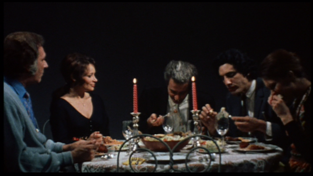 Last House on the Left (1972) dinner sequence