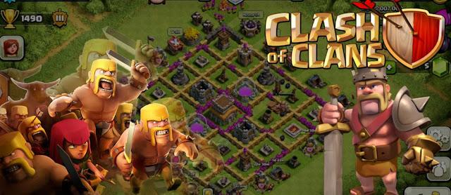 Base Clan War Clash of Clans