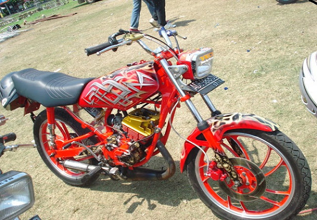 35 Gambar Modifikasi Motor RX-King