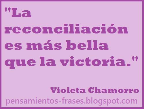 frases de Violeta Chamorro