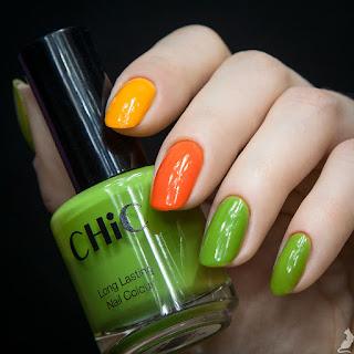 Chic #50 Fresh Grass + Clio Nail Styler #S110&S112