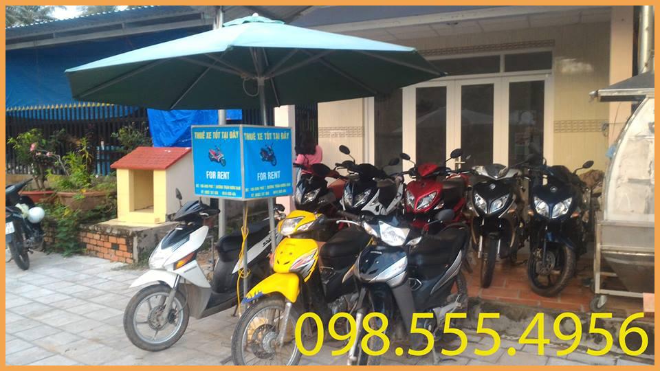 Cho Thuê Xe Máy ở Phú Quốc - Xe tốt giá rẻ, phục vụ chuyên nghiệp