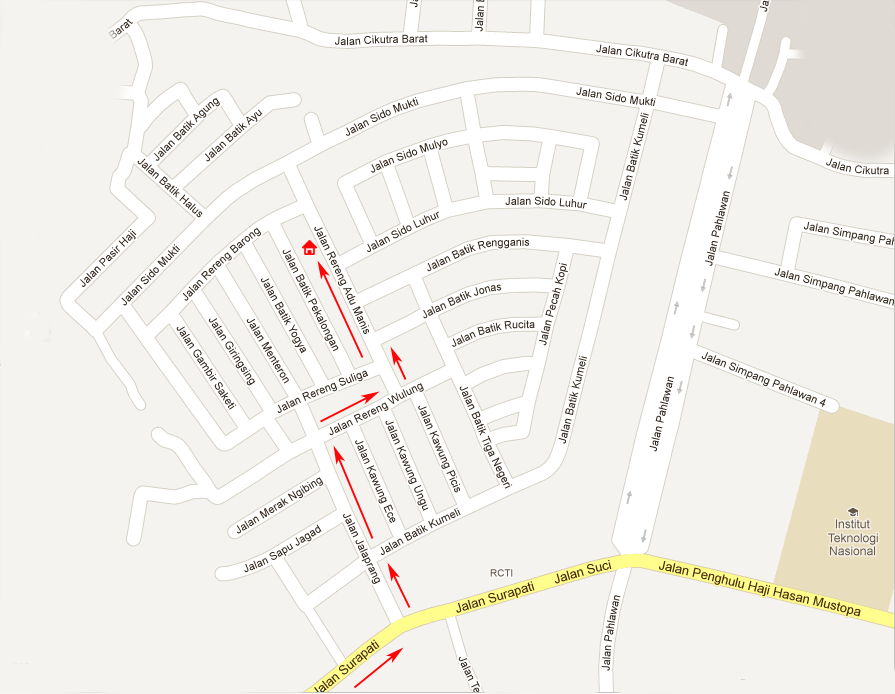 Peta Di Alamat Baru Skaci, Jl. Rereng Adu Manis No. 43, Sukaluyu
