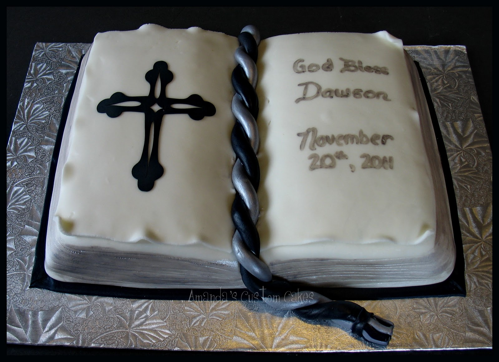 Confirmation Sheet Cake Ideas